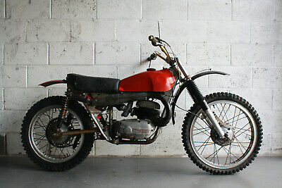 1970 BULTACO 125 SHERPA S MK2 MOTOCROSS RUNNING PROJECT BIKE TWINSHOCK MX
