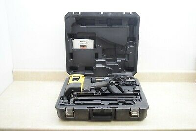 Simpson Gcn150 Gas-actuated Concrete Nailer Wcase - Used