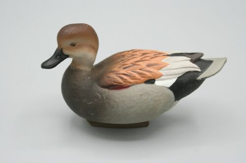 Ducks Unlimited Jett Brunet Miniature Decoy 2013 GADWELL Duck