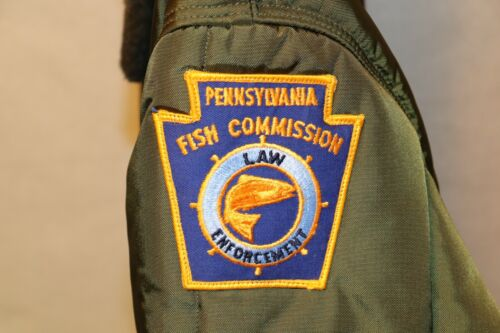 PA FISH BOAT COMMISSION WATERWAYS CONSERVATION OFFICER OBSOLETE UNIFORM & PATCH