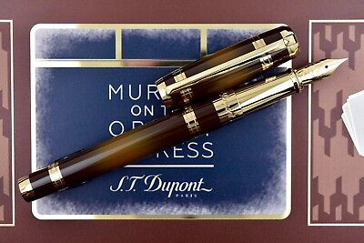 ST Dupont Ligne 2 Murder on the Orient Express Fountain Pen Paper Cutter Set