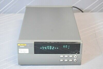 Fluke 2640a Networked Data Acquisition Unit With Universal Input Module