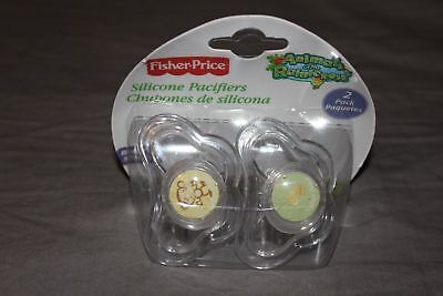Fisher-Price  4 pcs Baby Pacifier Animals of the Rainforest - Fisher Price Animals Of The Rainforest