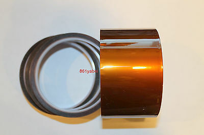 50mm X 33m 100ft Kapton Tape High Temperature Heat Resistant Polyimide Us Ship