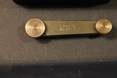 Vintage L.s. Starrett No. 178a Radius Or Fillet Gage In The Box