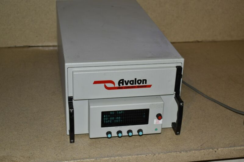 AVALON PORTABLE MODEL # AE3840FL RECORDER SYSTEM / DATA ACQUISTION (UO1)