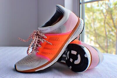 Adidas by Stella McCartney Adizero Adios White Size 7.5 Running Shoes BB6259