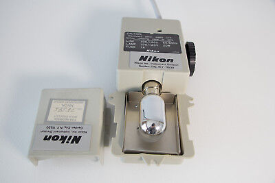 Refurbished Nikon Alphaphot Ys Illumination Lamphouse Assembly With New Bulb