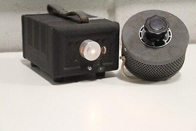 Vintage Lite-scope Iota Cam Fiber Optic Light Source With Dimmer