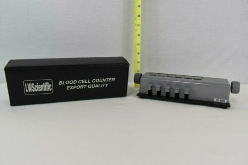 LW SCIENTIFIC 5 KEY BLOOD CELL COUNTER EXPORT QUALITY W/ CASE (#2)