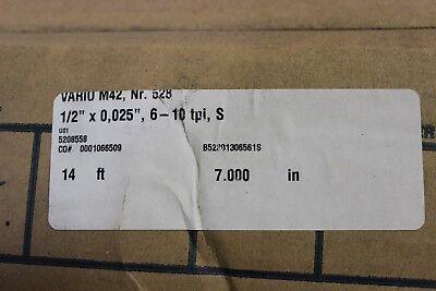Wikus Vario M42 Nr. 528 14 7 12 X 0025 6-10 Tpi S Bandsaw Blade