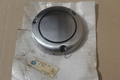 <em>YAMAHA</em> XS500 TX500 1973 1978 NOS CONTACT BREAKER COVER CASING 371 1541