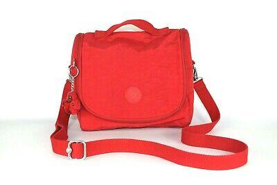 KIPLING KICHIROU Insulated Lunch Bag CrossBody Bag Red