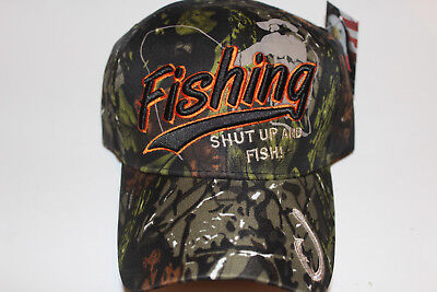 Anglerkappe Cap Kappe Mütze Camouflage Fishing Angler Mütze Angeln # 97