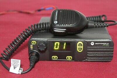 Motorola Xpr4380 800900 Mhz Digital Mobile Radio 32 Ch 35 Watt Aam27umc9lb1an