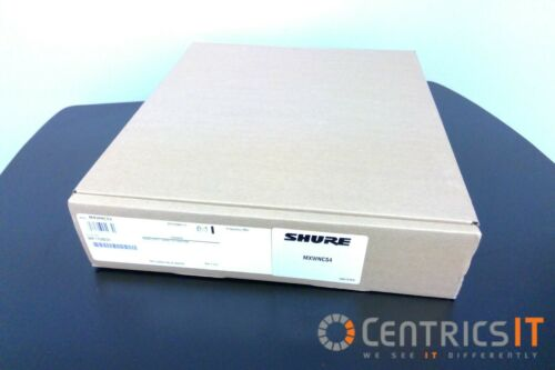 MXWNCS4 Shure Networked Charging Station NEW
