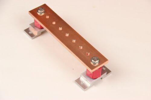 "1.5"" x 7"" Ground Bar / Bus Bar / Power Distribution Bar / Solar Power"