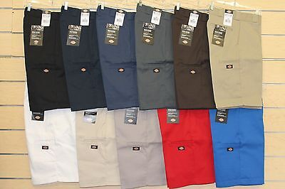 """DICKIES 42283 13"""" Work Uniform Loose Fit Multi Use Cell Phone Pocket Shorts"""