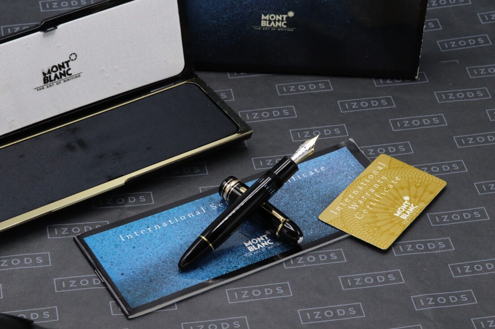 Montblanc Meisterstuck 149 Gold Line Fountain Pen - 1991-92 W.Germany - DIPPED