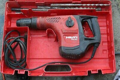 Hilti Te-50 Demolition Hammer Drill Rotary Case Bits