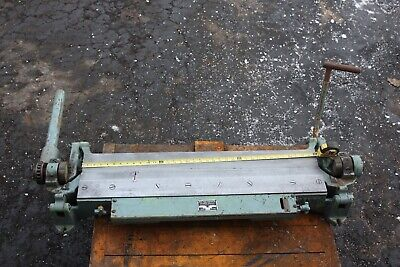 36 Bar Folder Pexto Peck Stow Wilcox Ac Sheet Metal Brake Niagara Diarco 055-d