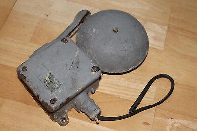 Werkglocke, Industrie Glocke, Schulglocke Klingel Alarm, Ehemalige Kaserneglocke