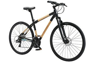 Bamboo EcoCross hybrid 21 speed bicycle - Free Shipping - by Greenstar Bikes - Bicycle Hybrid