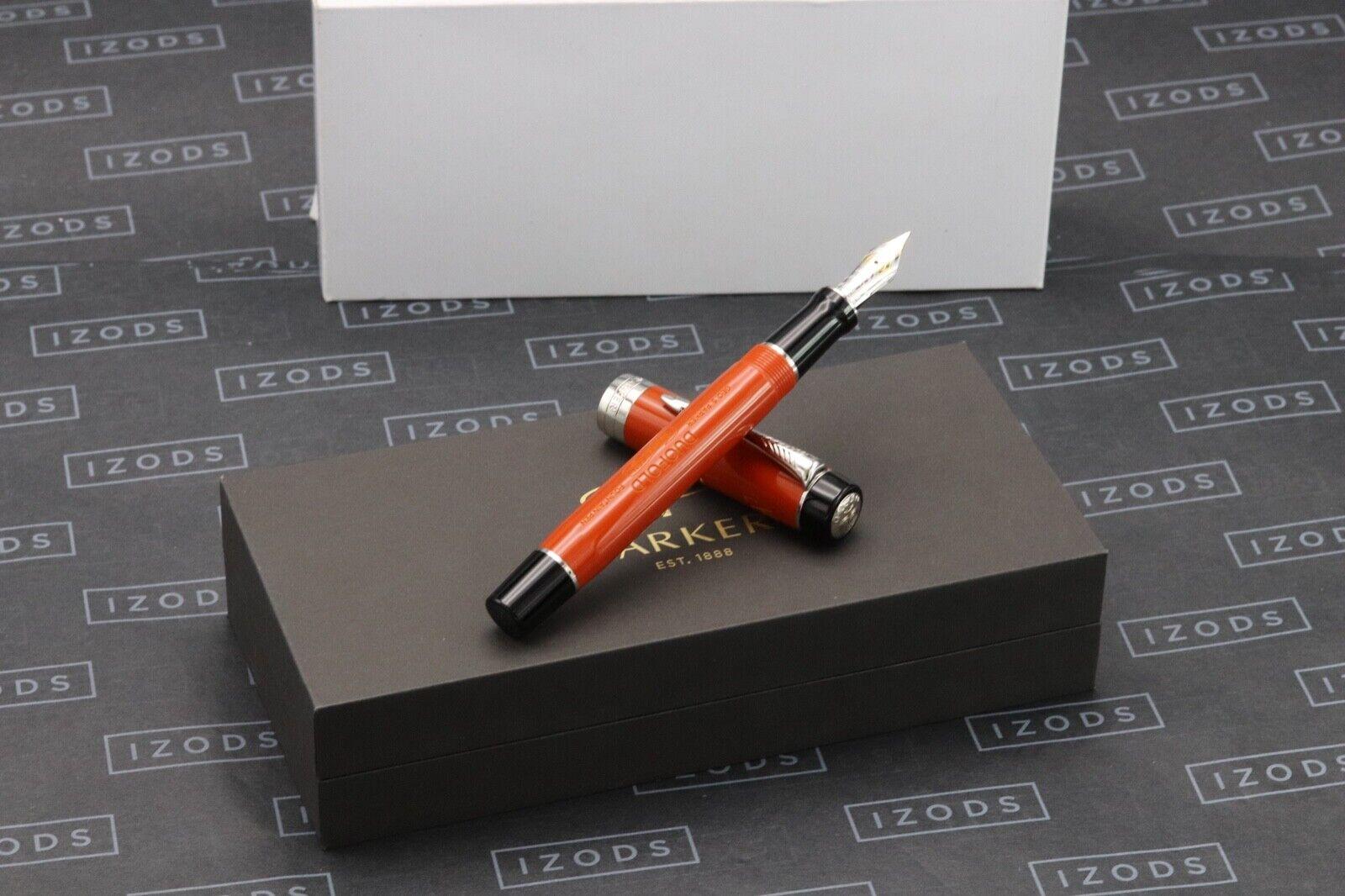 Parker Duofold Big Red Centennial Fountain Pen - Fine Nib