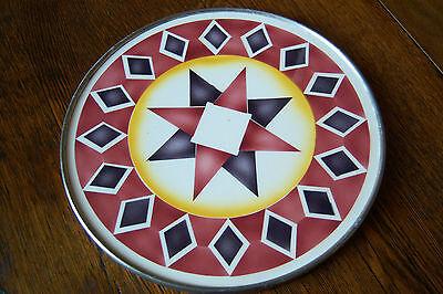 Art Deco Tortenplatte Kuchenplatte sehr seltenes Spritzdekor Bauhaus gemarkt