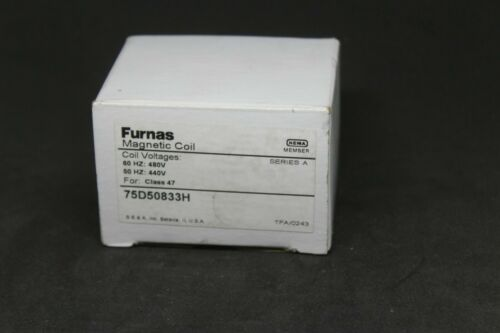 Furnas Magnetic Coil 75D50833H New in Box