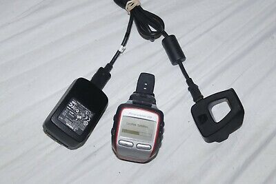 Garmin Forerunner 305 GPS Sport Watch w/ Charging Cradle and Charger- READ