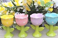 Gisela Graham Easter Ceramica A Pois Tulipano Portauovo -  - ebay.it