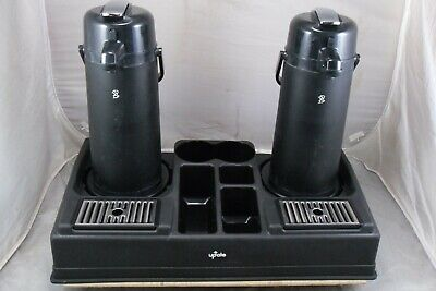 Update Brand Plastic Poly Dual Air Pot Stand Station W2 Lever Air Pots