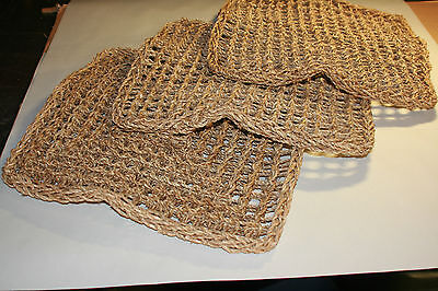 PARROT Toy PARTS, 3 Pack Natural Seagrass Mat Small 14