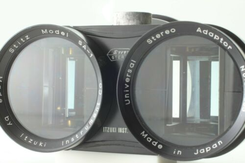 [Exc+5 in BOX] Stitz Universal Stereo Adapter Lens Model SA-1 From JAPAN 314