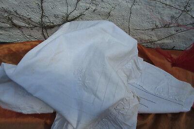 Farmhouse Antique Flour Sack Pillow ShamPillowcase Farm Fresh Milk