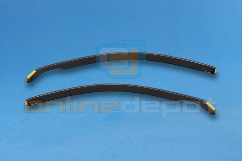 Wind Deflectors LEXUS IS250 Saloon 4-doors 2006-onwards 2-pc HEKO Tinted