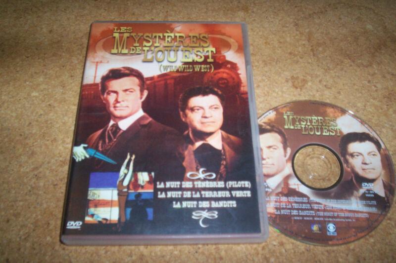 DVD LES MYSTERES DE L'OUEST la nuit des ténèbres + 2
