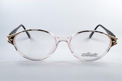 SILHOUETTE Brille M1840/20-6054 SPX Glasses 90s Clear Eye Frame Elegant Design