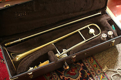 Bach Stradivarius Model 16 Professional Trombone Elkhart, IN with Case