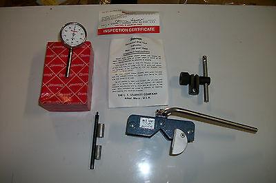 Starrett Universal Dial Test Indicator 196 W Erick Magna Holder Free Usa Ship