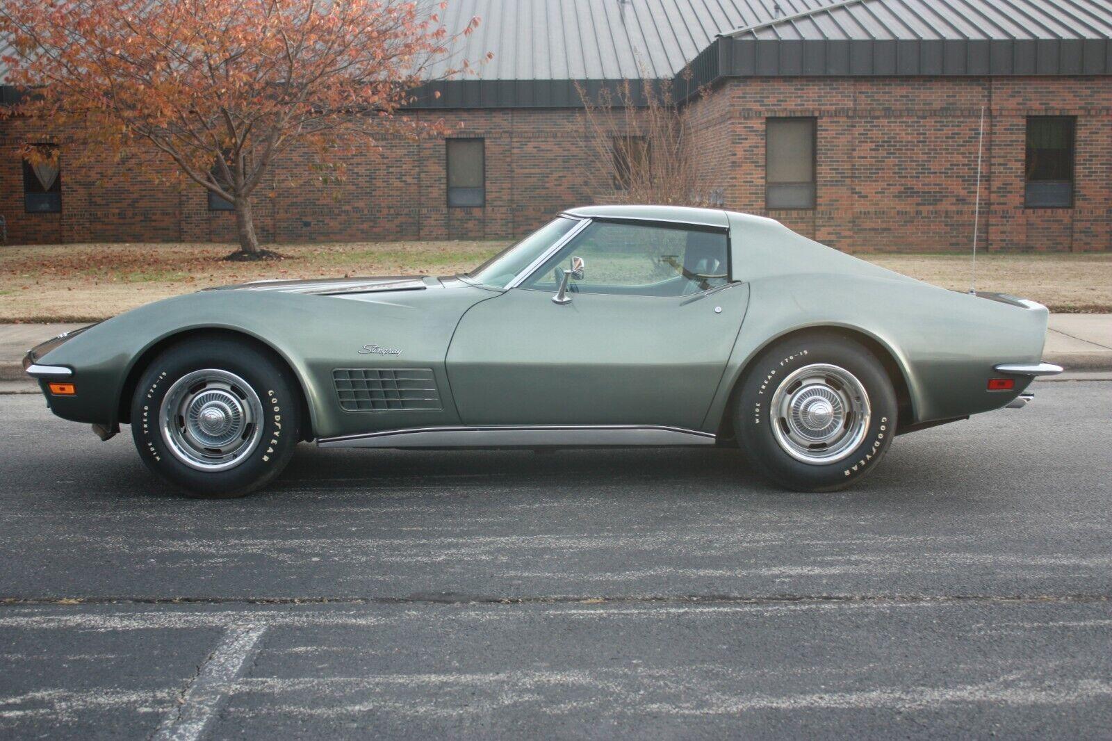 1971 Steel Cities Gray Chevrolet Corvette     C3 Corvette Photo 1