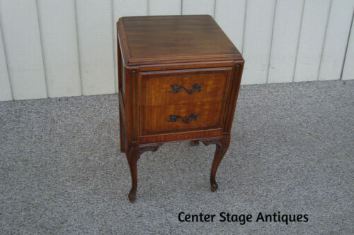 60897 Antique Nightstand End Table Stand