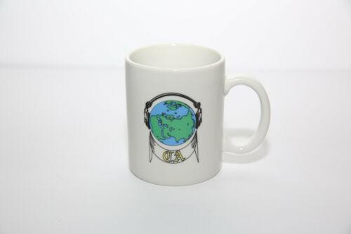 CA (Cryptologic Authority? NSA Unit? Headphones on Earth Graphic) Coffee Mug