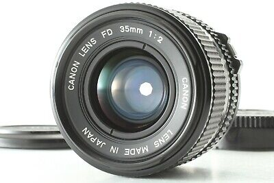【 MINT 】 Canon New FD 35mm F/2 NFD MF SLR Wide Angle Prime Lens From JAPAN #9782