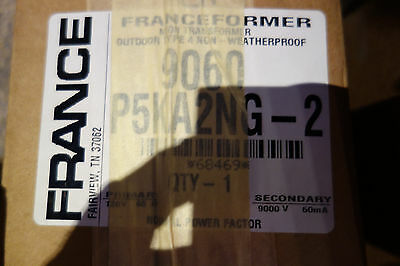 France Electric Sign Repair Parts 9060 P5ka2ng Outdoor Type 2 Neon Transformer