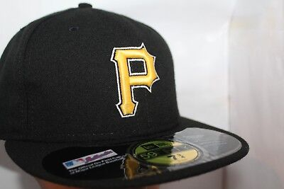 Pittsburgh Pirates MLB New Era Authentic Collection  59Fifty,Cap,Hat    $ 36.99](Authentic Pirate Hats)