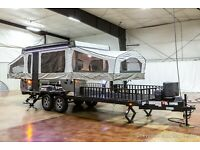 New 2022 Forest River Flagstaff Sports Enthusiast 28TSCSE Pop Up Toy Hauler Sale