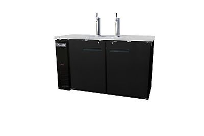 Migali C-dd60-2-hc Commercial Direct Draw Refrigerator Cooler Beer Dispenser