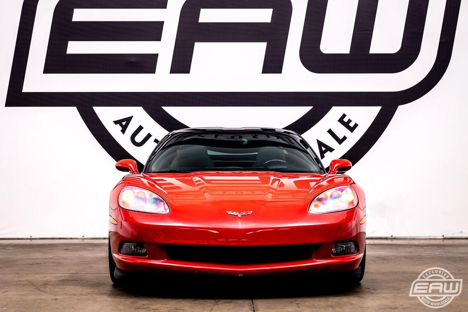 2005 Red Chevrolet Corvette Coupe  | C6 Corvette Photo 3